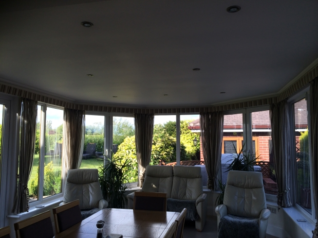 conservatory and solid roof Ormskirk