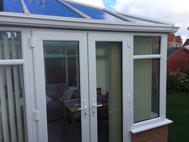 Conservatory and glass roof Merseyside