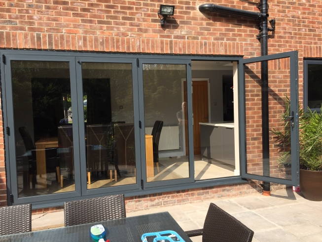 bi fold doors in Runcorn, Cheshire