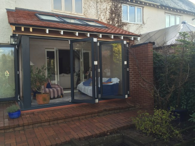 Bi-Fold Doors in Wirral Merseyside & Extension and Bi-Fold Doors Parkgate Wirral Cheshire - Celsius ...