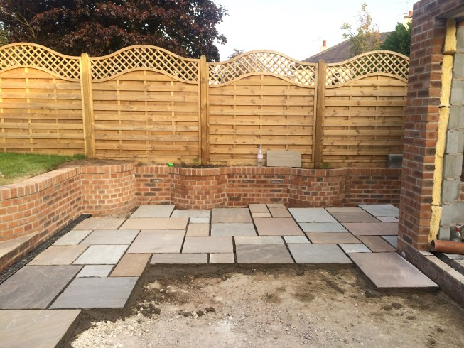 Patios in Aughton, Ormskirk