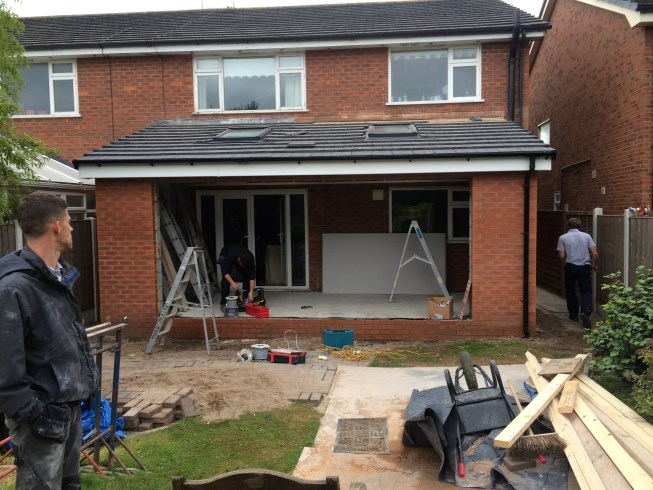 Extension in Formby, Merseyside