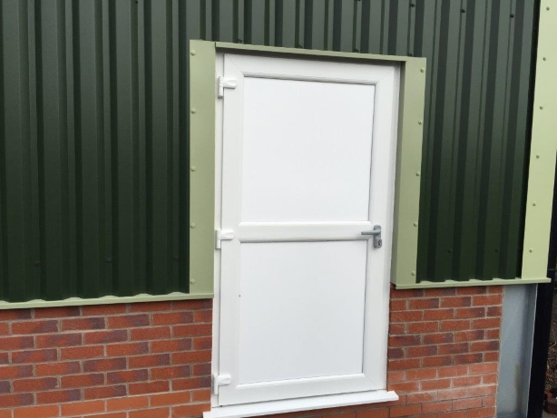 UPVc security door Preston