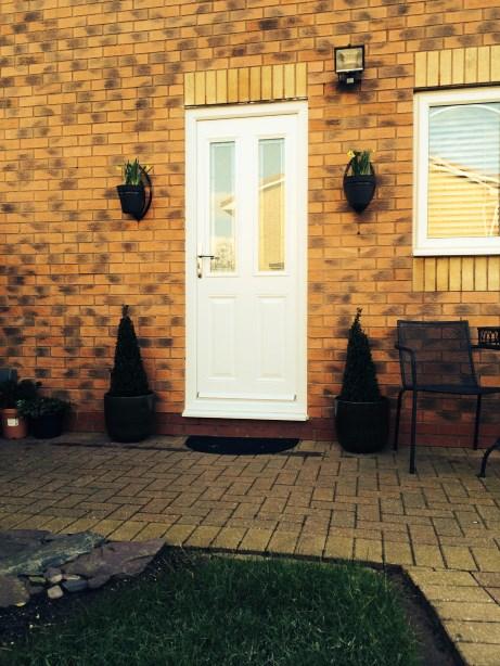 Composite Back Door in Huyton, Liverpool, Merseyside