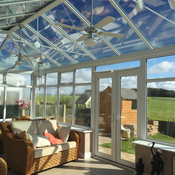 Conservatory & Glass Roof in Morecambe, Lancashire