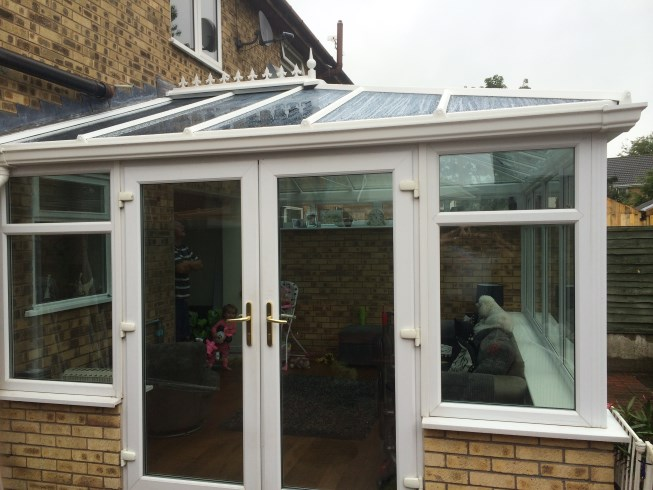 Conservatory with Glass Roof, Croxteth, Merseyside