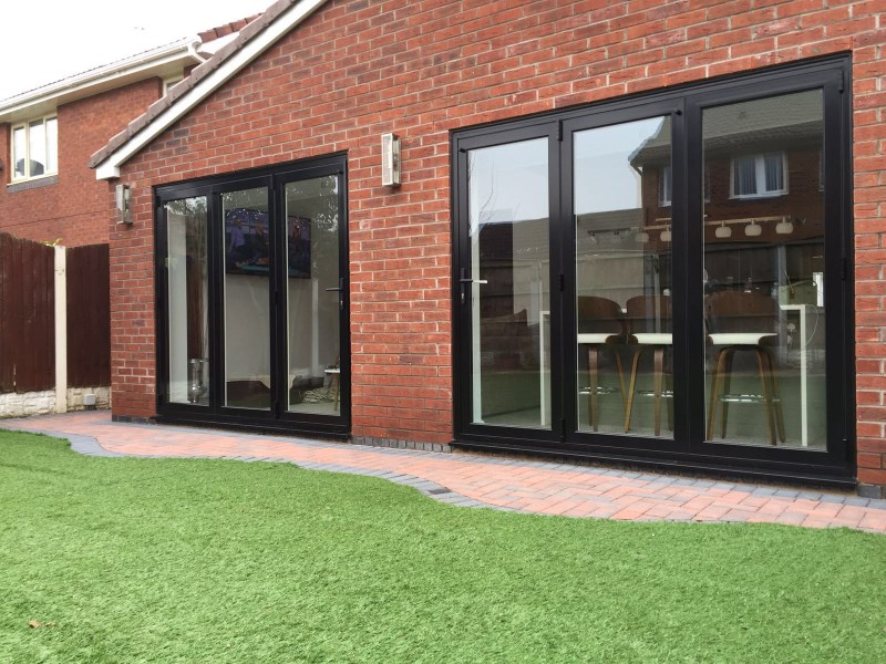 Extension and bi-fold doors in Lathom, Ormskirk, West Lancashire