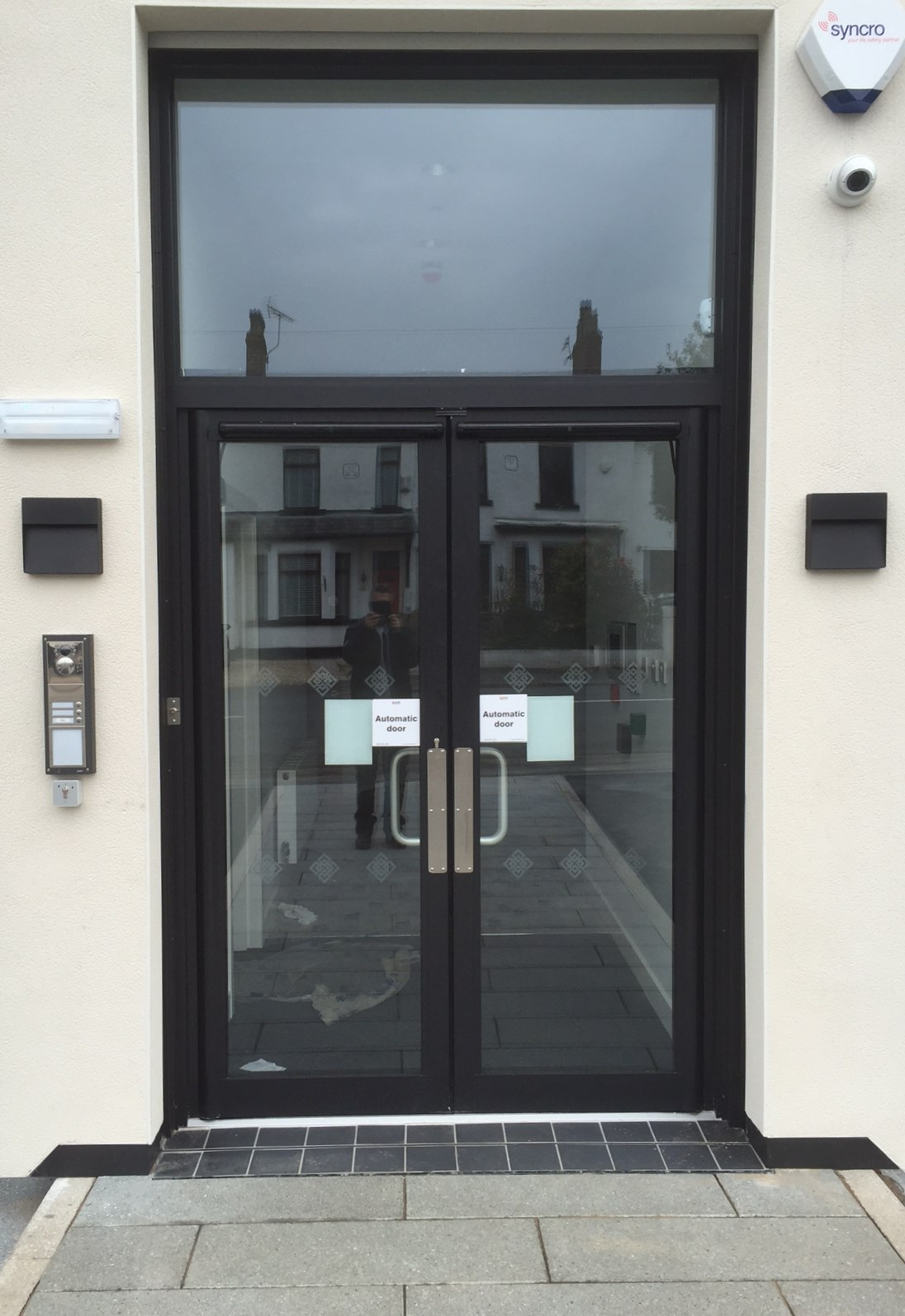 Aluminium Automatic Security Doors - Aughton, Ormskirk