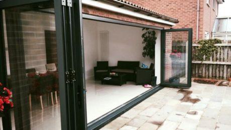 aluminium bi fold doors - Halewood, Liverpool
