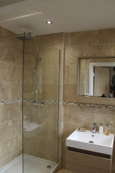 glass shower door merseyside