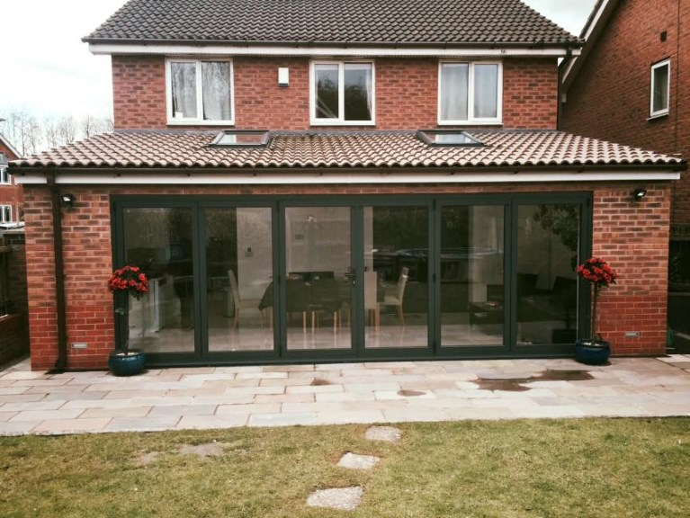 bi folding doors - Halewood, Liverpool