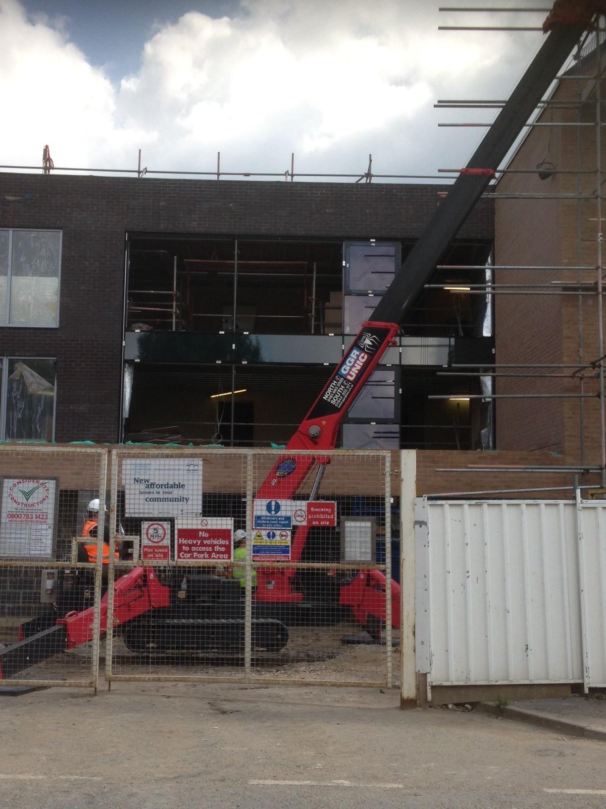 Work underway on housing in Manchester
