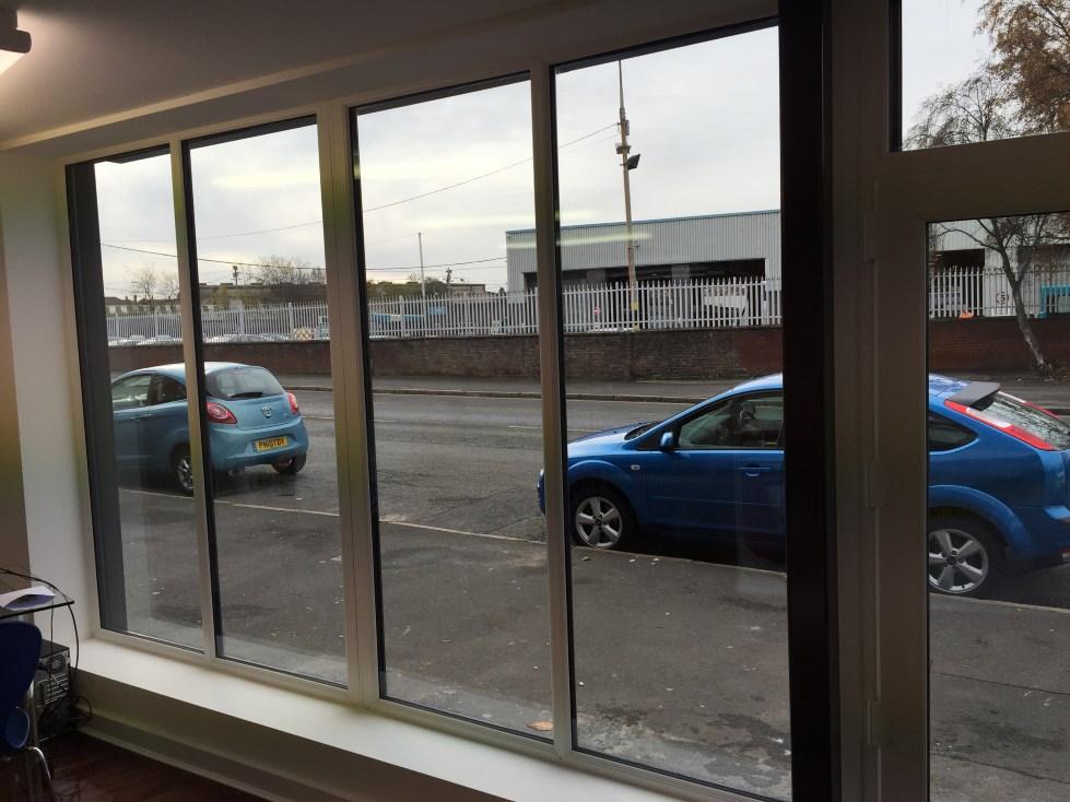 aluminium white and grey windows liverpool