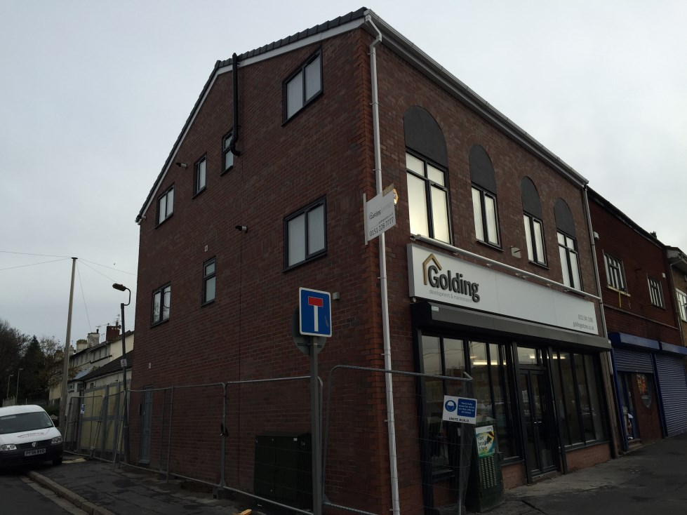 Aluminium Shop Front Liverpool