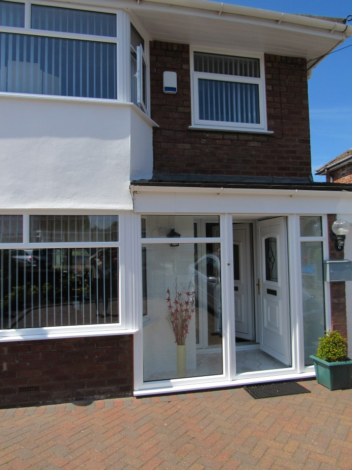 UPVc windows and porch Oxford