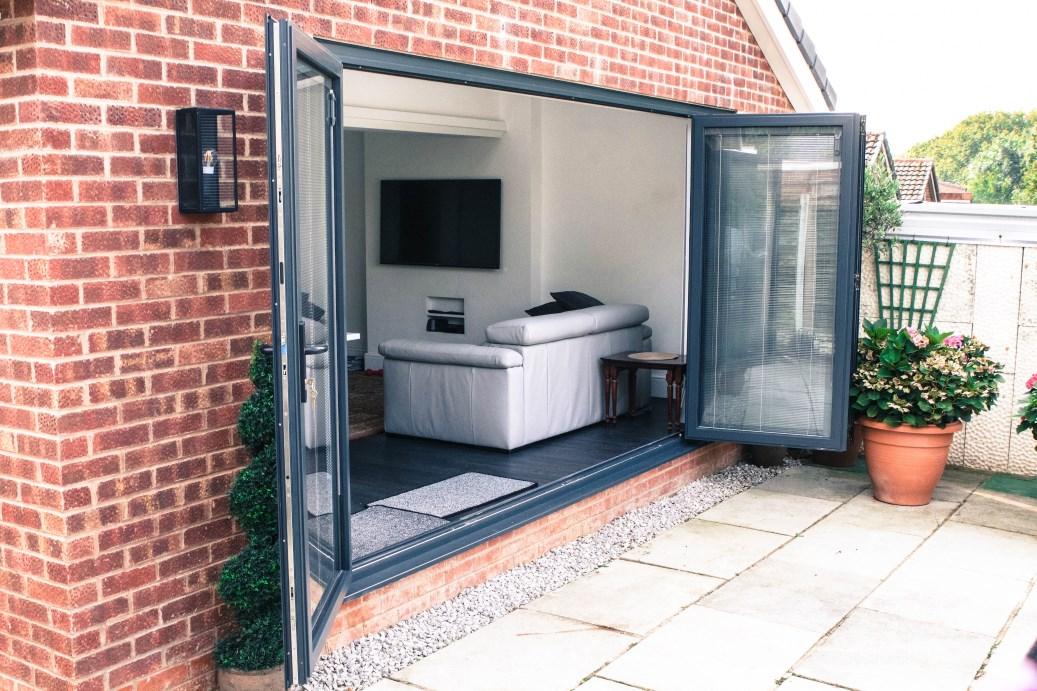 WarmCore bi-fold doors Ormskirk Lancashire