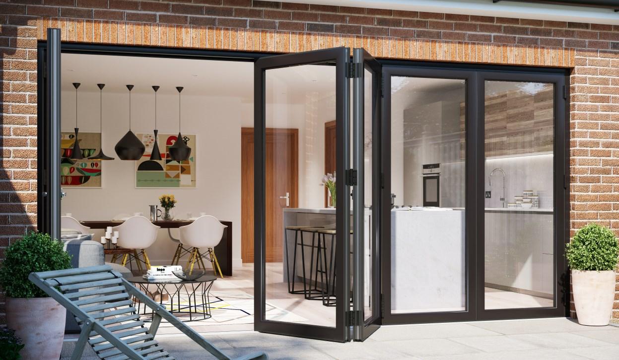 aluminium bifold doors chigwell