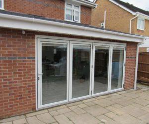 bi-fold doors, Southport, Merseyside