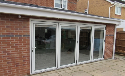 single storey extension aughton