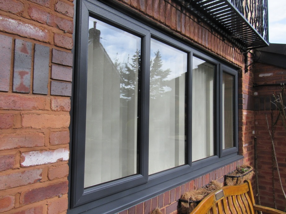 Celsius Home Improvements, uPVC, windows, amphacite grey,