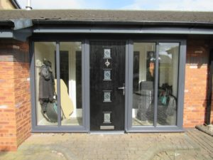 Celsius Home Improvements, grey, PVC, porch, Composite door, Liverpool