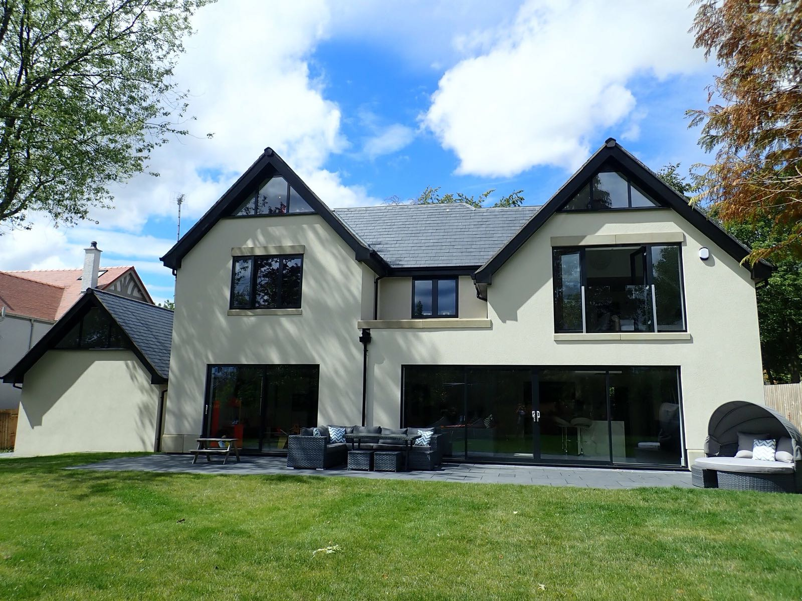 Full house - Anthraite grey - uPVC - windows - Ormskirk