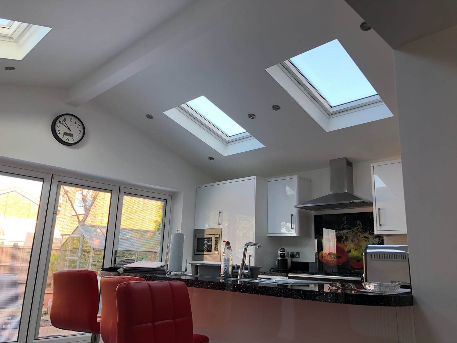 kitchen, design, installation, liverpool, celsius home improvements, extension, skylights
