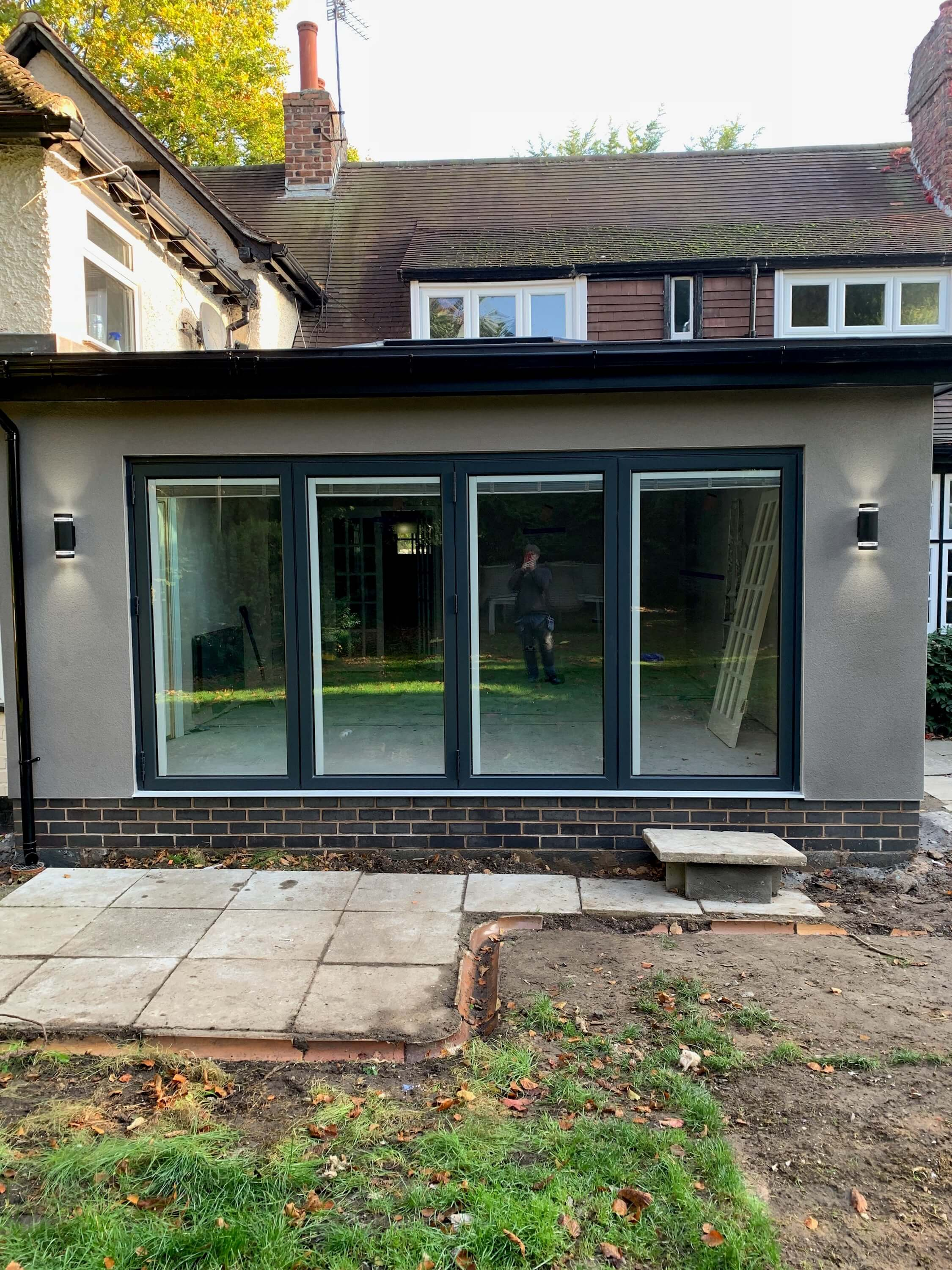 Bi fold doors, doors, bi folding doors, installation, liverpool, celsius home improvements, extension