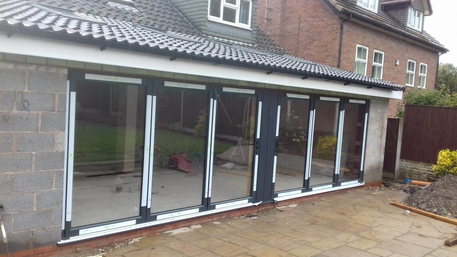 warmcore, bi-folds, doors, extension, celsius home improvements, knowsley, liverpool, merseyside