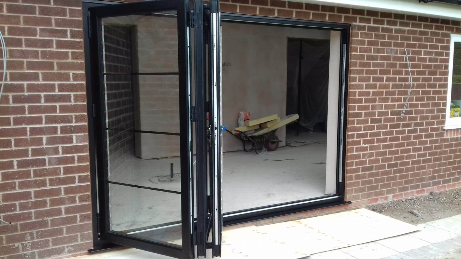 bi folds, bi folding doors, celsius home improvements, formby, merseyside.