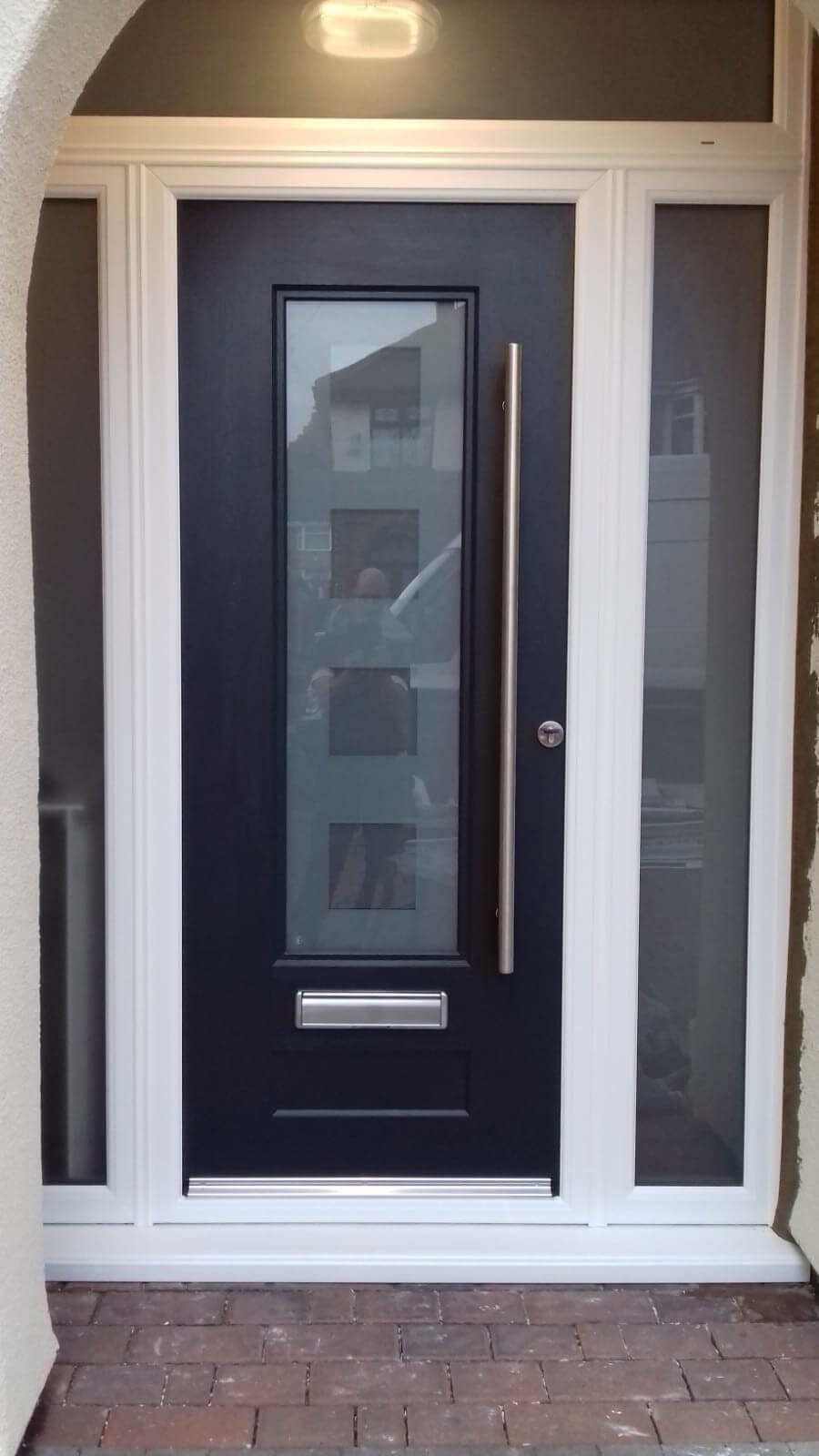 front door, door, pvc, upvc, pvcu, replacement, composite, comp, celsius home improvements, lydiate, merseyside