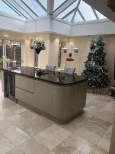 orangery, kitchen, extension, design, insatllation, aughton, ormskirk, celsius home improvements