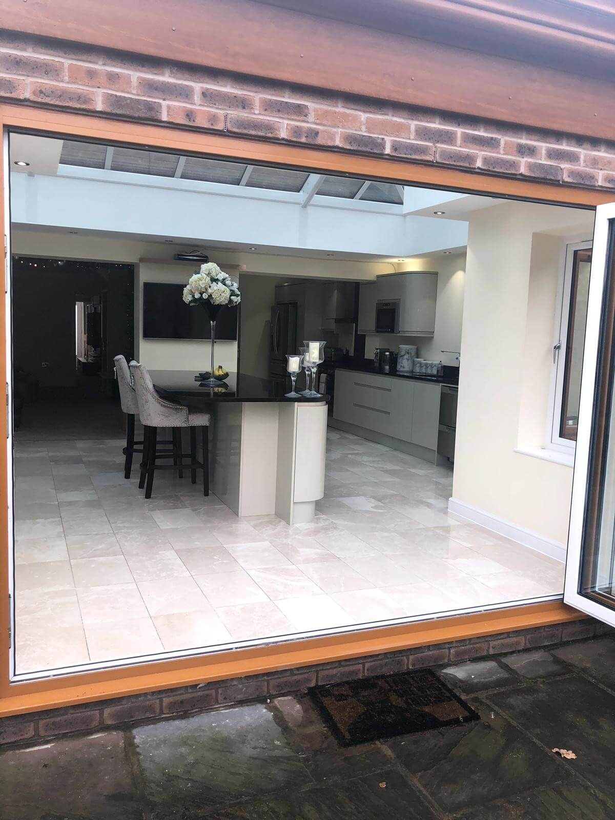 bi-folds, orangery, extension, aughton, ormskirk, merseyside, celsius home improvements