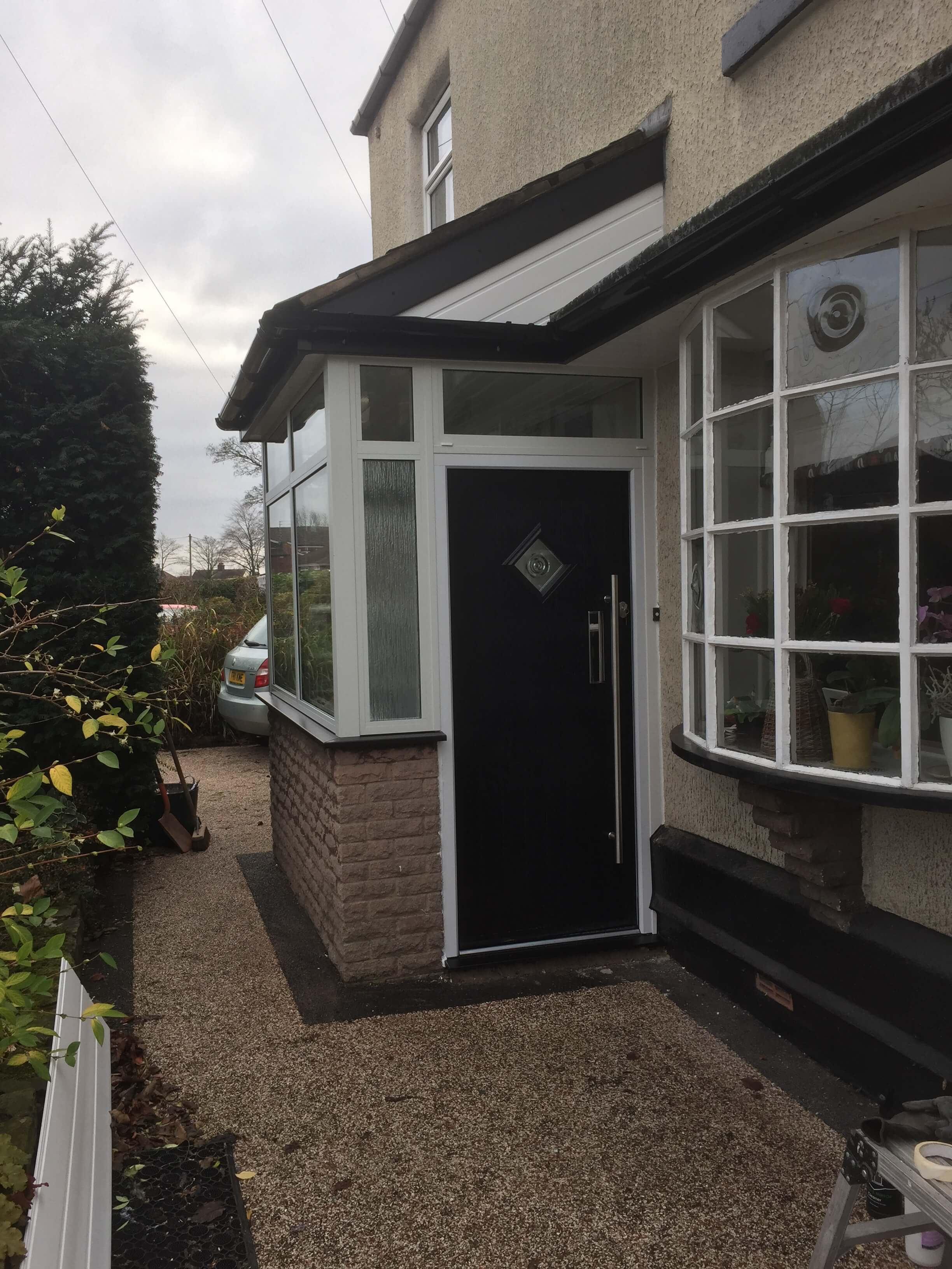 porch, extension, solid roof, aluminium, windows, composite door, st helens, liverpool, merseyside, celsius home improvements