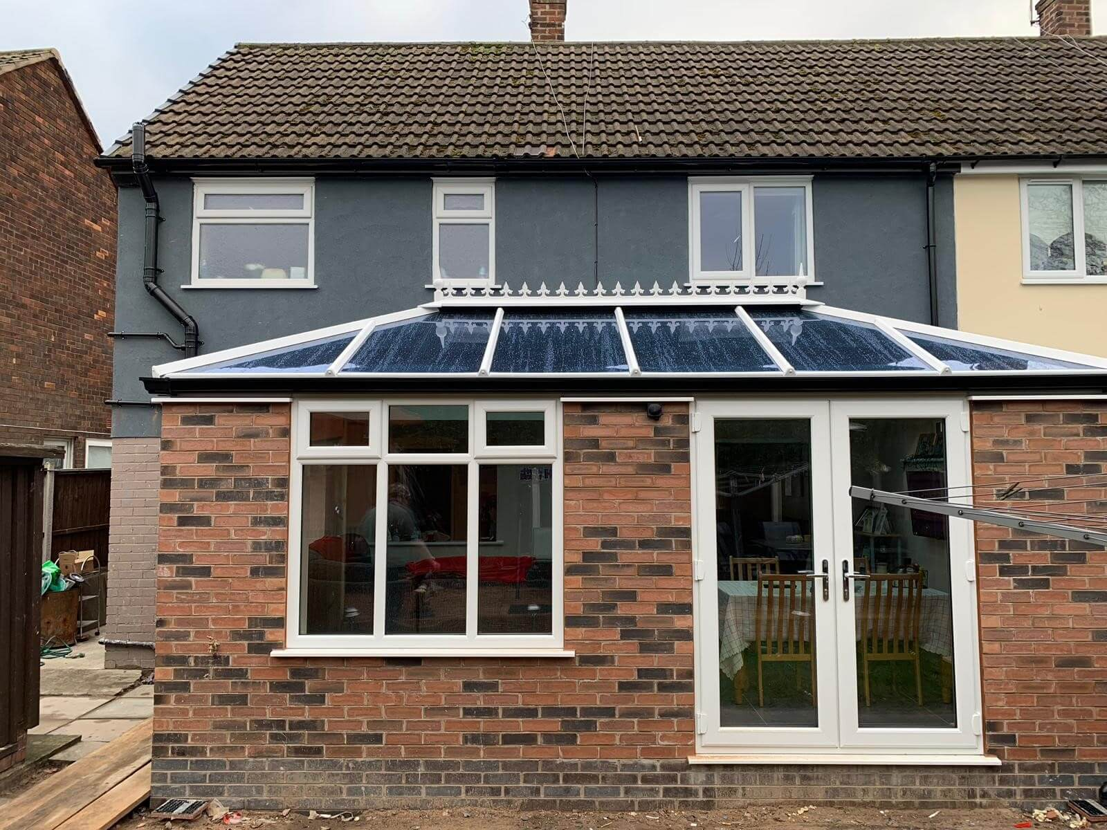 orangery, extension, render, new home, celsius home improvements, liverpool
