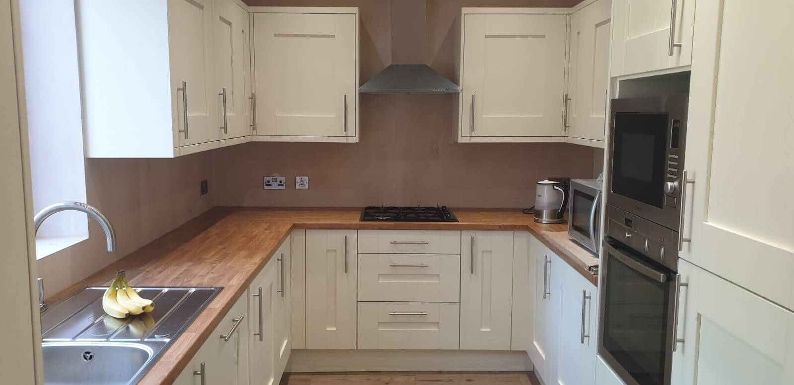 This image shows a kitchen renovation installed by Celsius Home Improvements in Bootle, Liverpool